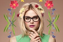 Spring 2014: Wonder Garden / This collection is a veritable bouquet of silhouettes. From classic frames to exaggerated cateyes, there's something for everyone. This season is all about joy and romance, so it's no surprise that the floral trend is in full bloom once again / by BonLook