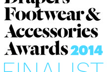 Drapers Award / We have been shortlisted as Finalist for Drapers Footwear & Accessories Awards. See what items got us into being selected :)