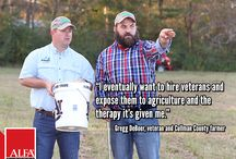 2016 Neighbors / Familiar farming faces from 2016 issues of our Neighbors magazine.  / by Alabama Farmers Federation