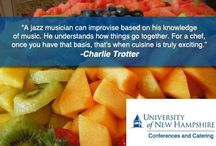 For The Love of Food / #Chef #Quotes and #Tips http://www.conferences.unh.edu/