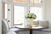 breakfast nook / by CandiandBrian Reese