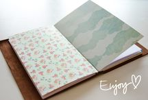 DIY travelers notebook,covers,inserts,bags,pouches
