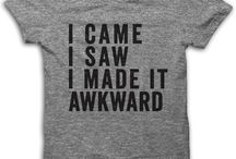 Tshirts with meaning .....
