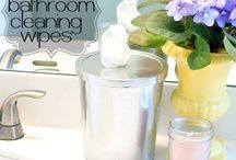 Natural household cleaning materials