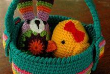 Cestos em croche | Basket crochet