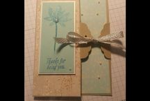 tag topper punch card