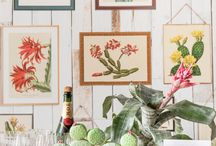 Rebel Wedding – Temporary Theme Walls / Wall murals are a magnificent way to strengthen the theme on your party.   Not allowed to hang wallpaper in the location for your festivity? No worries – here are some great ideas on how you arrange a temporary wall with affordable plasterboards.