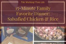 Under 30-minute Family Dinners / This board is to collect weeknight dinner recipes that are quick and easy for us busy working moms. If a meal takes less than 30 minutes to prepare, cook, and serve, please add it! To join the board email julie@fabworkingmomlife.com. This is a small board so please avoid duplicate pins that you can see.