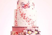 WEDDING CAKE PAINTED