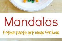 Mandalas / Art projects for kids about Mandalas