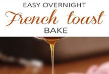 Easy overnight french toast