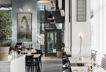 Restaurant Interiors / It's not just about food in a good restaurant. The interior helps creating an amazing atmosphere.