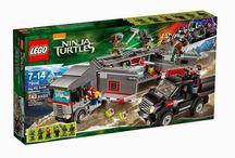 LEGO Teenage Mutant Ninja Turtles Movie Sets
