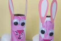 here comes peter cottontail / by Nicole Marie