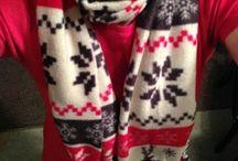 No sew fleece scarfs