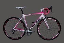 pink road bike