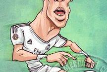 Caricatures Of Gareth Bale