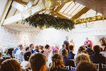 Wedding Ceremonies at Bickley Mill Inn / Ceremony inspiration from Millers Room at Bickley Mill Inn.