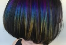 hairstyles and colour I like