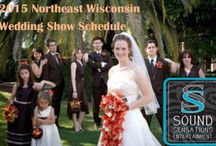Wisconsin Wedding Shows / #WisconsinWeddingShow schedules #bridal #shows in NE Wisconsin and SE Wisconsin