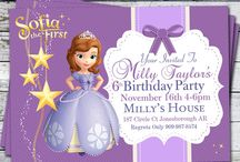 Sofia the first birthday party / by Katrina Willis