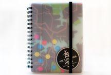 KA_LEN_DIAR - Diary, diář - Light / Unique recycle diary, originální recykl diář