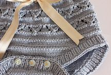 bebe y niños en punto o crochet