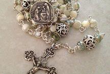 Rosary's bracelet's necklaces