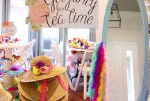 Invincible girls' tea party