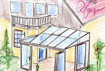 Wintergarten / Auf dieser Pinnwand zeigen wir Ihnen unsere Wintergärten sowie tolle Inspirationen.