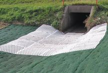 Erosion Control / Brock White offers all of the erosion control products you need to ensure that your soil remains in place and your hard work creating your landscape isn't lost. Choose from landscape fabric, erosion control blankets, geomembranes, paving fabrics, leak prevention and containment products and drain tile, among many other soil and erosion control products. Click Here to view our printable Geo Line Card.