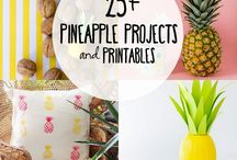 Pineapples & Flamingos!!