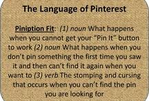 The Language of Pinterest