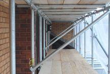 Cardiff Scaffolding Contract Ltd install