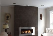gas fire heating