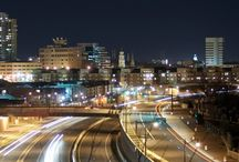 New Brunswick at Night / Places where the Hub City lights up when the sun goes down.
