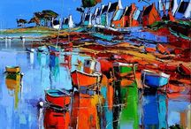 Painting. Sea scapes