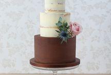 Ganache wedding cakes