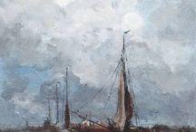 MARINAS / Pintura sobre el mar
