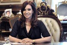 #FuerzaCristina / La presidenta Cristina Fernández se encuentra internada en la Fundación Favaloro (Buenos Aires, Argentina) tras presentar un hematoma subdural crónico.