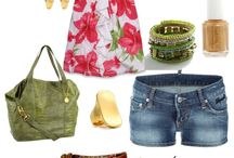 Summer Closet/Pinks,Purple& Roses or Red &Floral's colors / by Kim Boyette