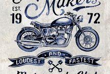 Moto, custon