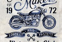 araba ve motosiklet