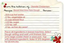 Bread Machine / Bread machine recipes, bread, muffins, pizza dough, dough / by Carrie Anderson