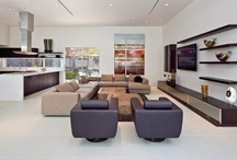 Lovely Living Rooms / Fantastic living room interiors in luxury homes! See more at http://updatethemetroplex.com / by Update Dallas
