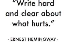 Writing / by Olivia Craig