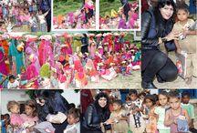 material distribution camp