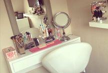 Chambre côté makeup.