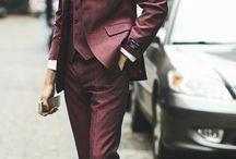 Suits - Claret/Wine