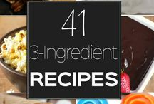 3 ingrediants recipes